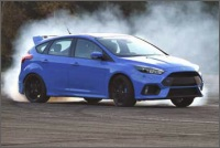 Ford Performance AWD pro model Focus RS
